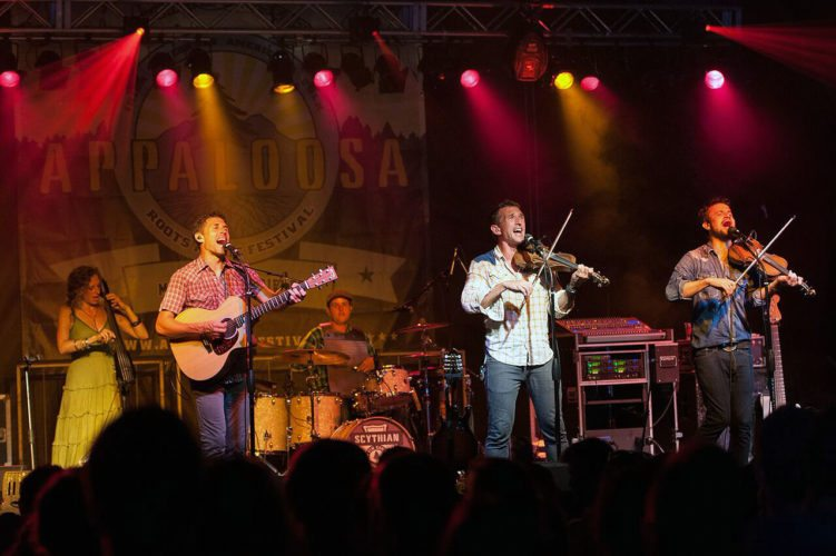 Scythian performs at their inaugural 2015 Appaloosa Festival at Skyline Ranch Resort in Front Royal over Labor Day weekend. Photo courtesy of Danielle Lussier