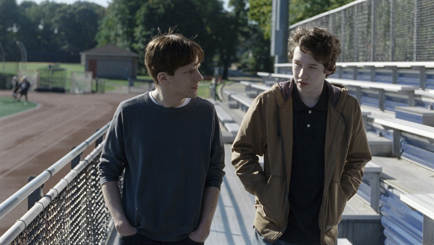 "Actor Devin Druid, right, shown here with Jesse Eisenberg in ""Louder Than Bombs,"" will be appearing at Alamo Drafthouse Cinema on May 1 for a showing and Q&A for the film. Photo courtesy of Jakob Ihre/Motlys AS"