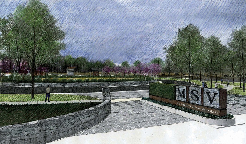 This Is An Artistu0027s Rendering Of The New Amherst Street Entrance To The  Museum Of The Shenandoah Valley, Which Will Be The First Project In The New  Phase Of ...