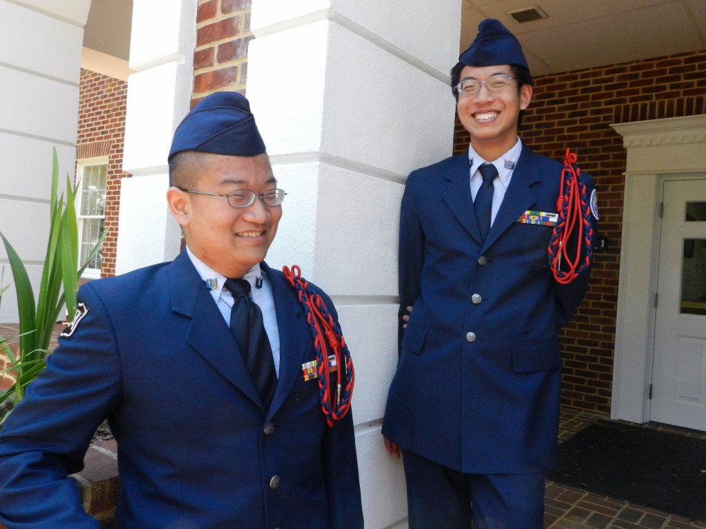 Randolph-Macon Academy students William Wong, left, and Johnny Wong, who are brothers,  will speak as salutatorians at the school's commencement ceremony Saturday morning. Rachel Mahoney/Daily