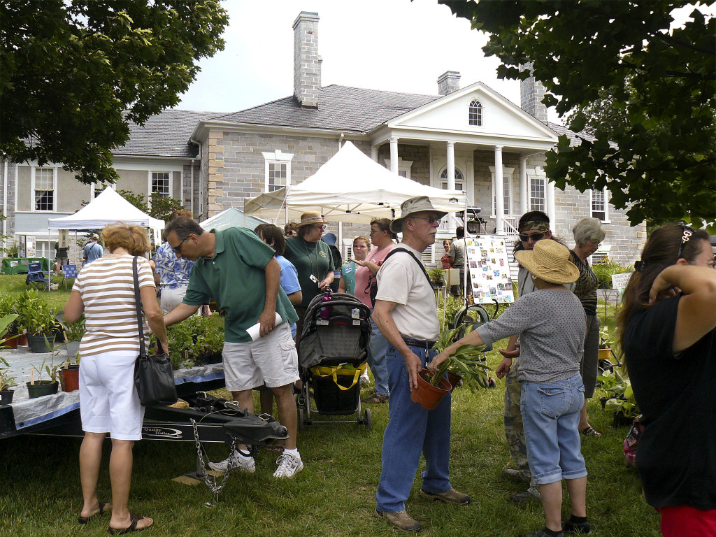 Attendees browse plants for sale at Belle Grove Plantation's  Garden Fest in 2010. This year's festival will be held on Saturday. Courtesy photo by Belle Grove Plantation.