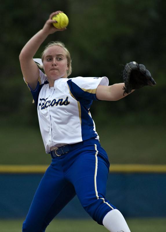 Central pitcher Bekah Ansbro, The Northern Virginia Daily's 2016 Softball Player of the Year, went 18-5 with a 0.67 ERA and 289 strikeouts this spring.   Rich Cooley/Daily