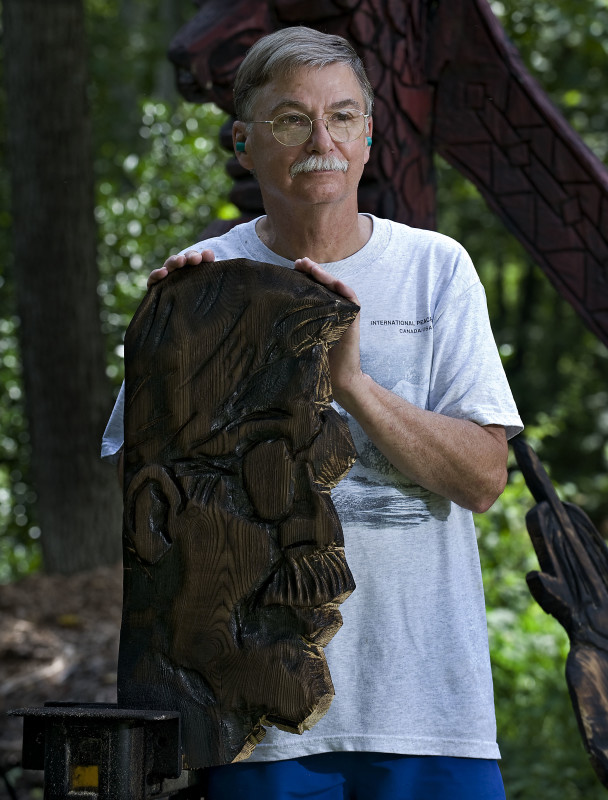 Local chainsaw artist takes his skills to burning man