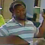 Police are searching for this man for questioning in an attempted bank robbery Wednesday morning at the United Bank at 199 Valley Pike in Winchester. Courtesy image