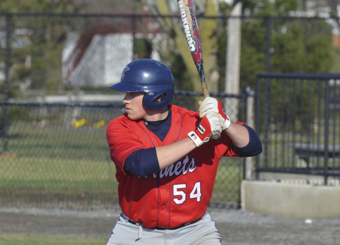 Jake Loew, a preseason All-American, returns to lead Shenandoah University's baseball team in 2017 after batting .373 with six home runs and 55 RBIs as a junior last season.    Photo courtesy of Shenandoah University