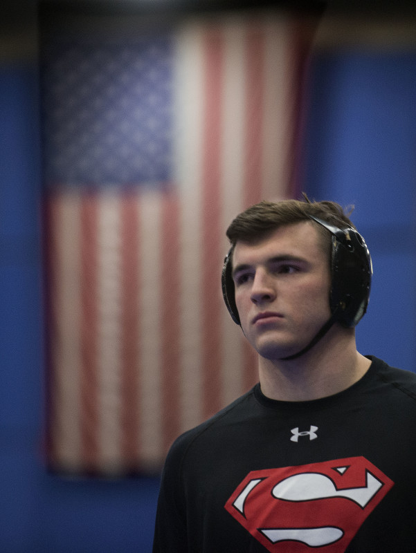 Sherando senior John Borst, who won his third VHSL Group 4A state title this past season, is The Northern Virginia Daily's 2017 Wrestler of the Year.   Rich Cooley/Daily