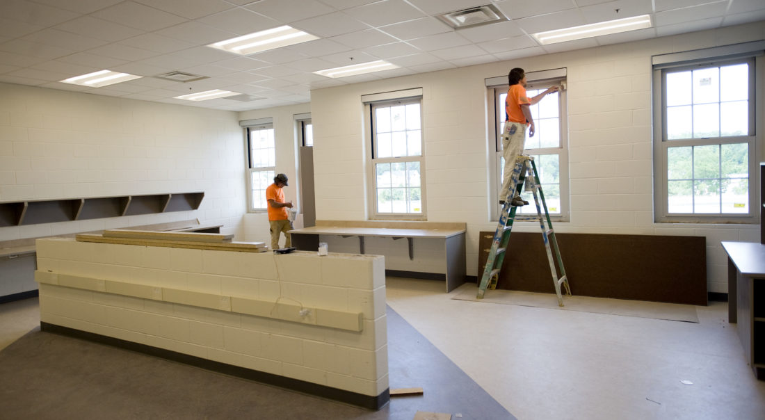 New Middle School Nears Completion News Sports Jobs