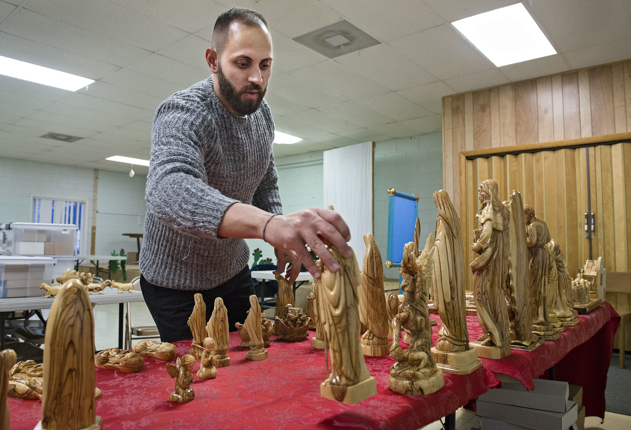Woodcarvings support bethlehem olive woodcarvers news