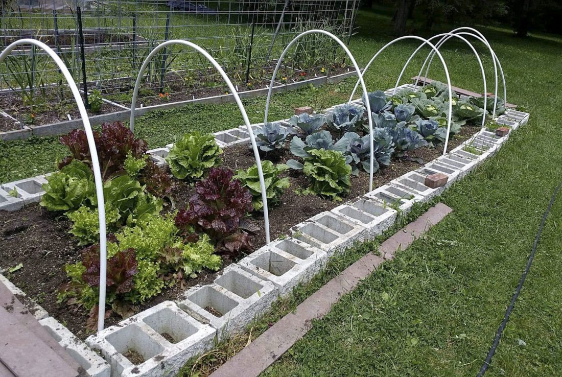 Here Is An Example Of Material James Evans Uses In Raised Garden  Construction. Courtesy Photo