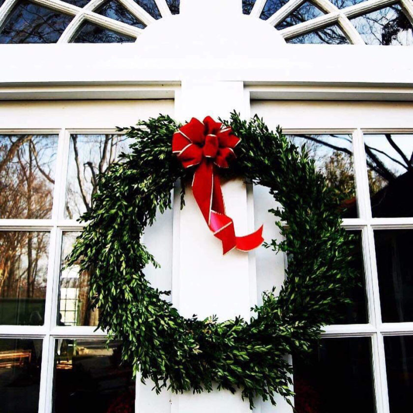 start decorating after thanksgiving from the outside in ashley millerdaily