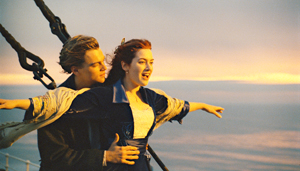 "Submitted Photo ""Titanic"" stars Leonardo DiCaprio and Kate Winslet."
