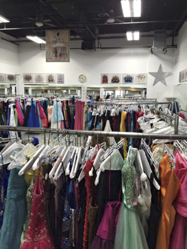 Submitted Photo Locally, gently-used prom dresses can be dropped off at State Farm in Derby.