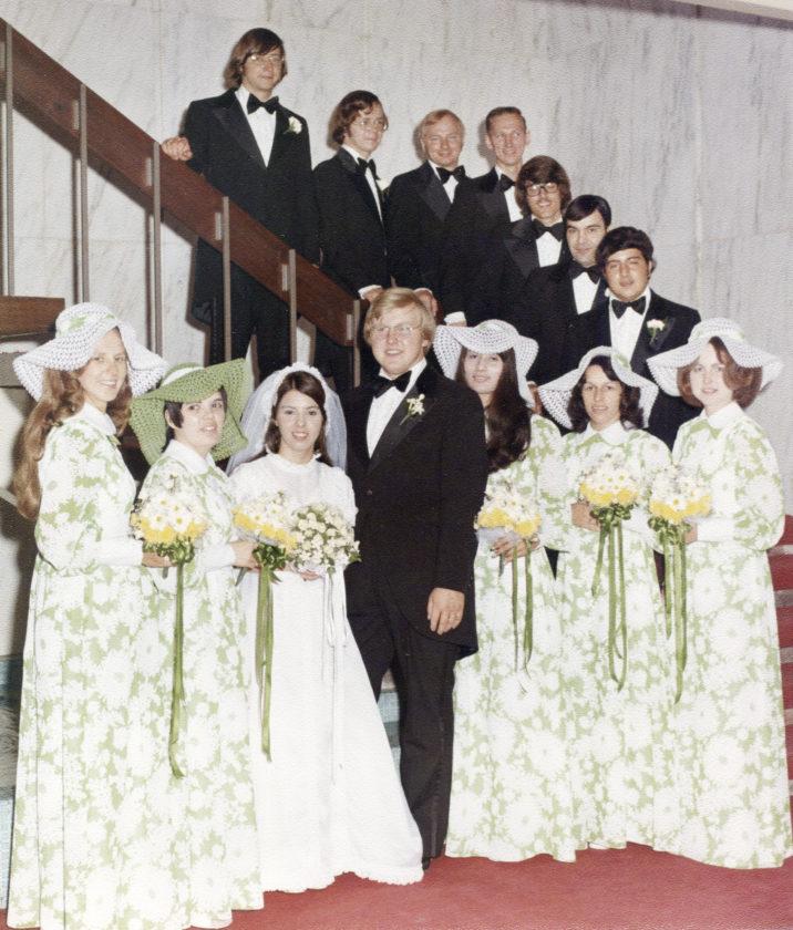 VW Tony Pope's wed