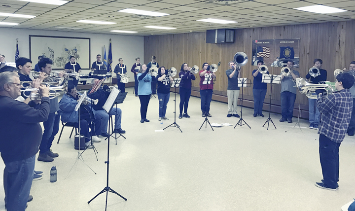Submitted Photo The WNY Alumni Drum and Bugle Corps is getting ready for the upcoming season.