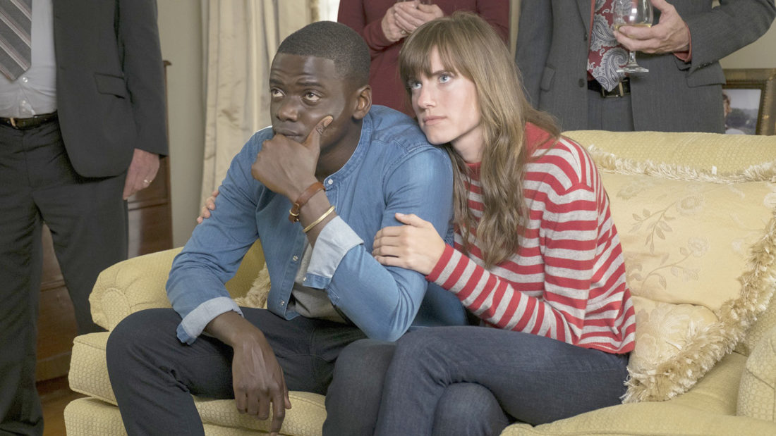 "Submitted Photo ""Get out"" stars Daniel Kaluuya and Allison Williams."