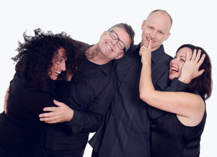 """Submitted Photo  New York Voices, a Grammy Award-winning vocal quartet, will be featured when Rockefeller Arts Center presents """"Commencement Eve Pops with New York Voices"""" on Friday, May 12 at 7:30 p.m. in King Concert Hall at the State University of New York at Fredonia."""