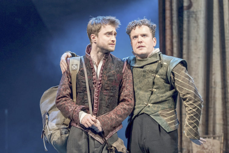 Submitted Photo: Daniel Radcliffe and Joshua McGuire star in Tom Stoppard's Rosencrantz & Guildenstern are Dead.