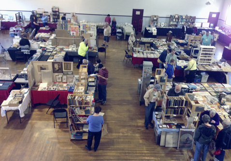 Submitted Photo: Pictured is Eason Hall during a previous Vintage Book & Paper Show.