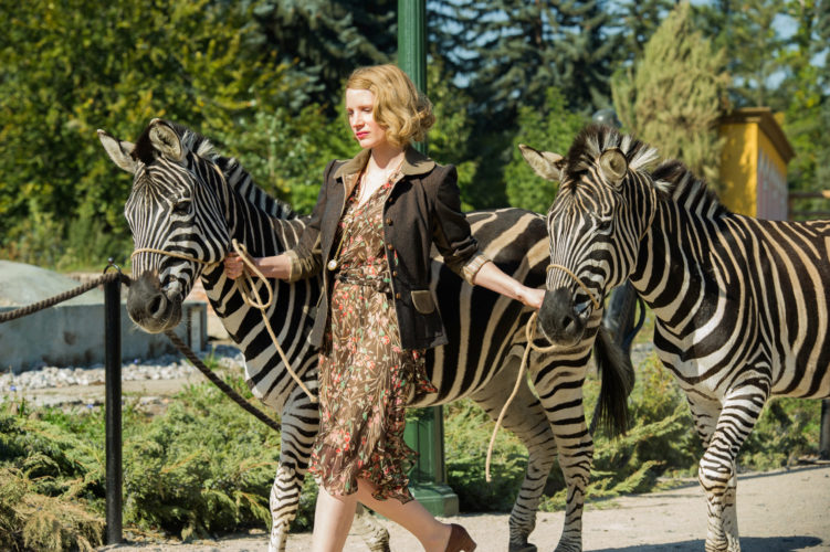 """Submitted Photo: Jessica Chastain stars in """"The Zookeeper's Wife."""""""