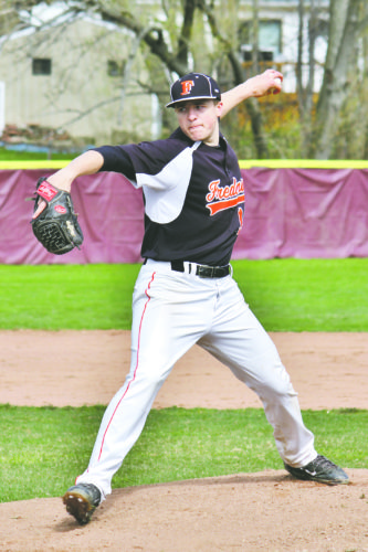 OBSERVER File Photo: Fredonia alumnus Cam Voss is headed to Division I Mississippi State following a standout season at Niagara County Community College.