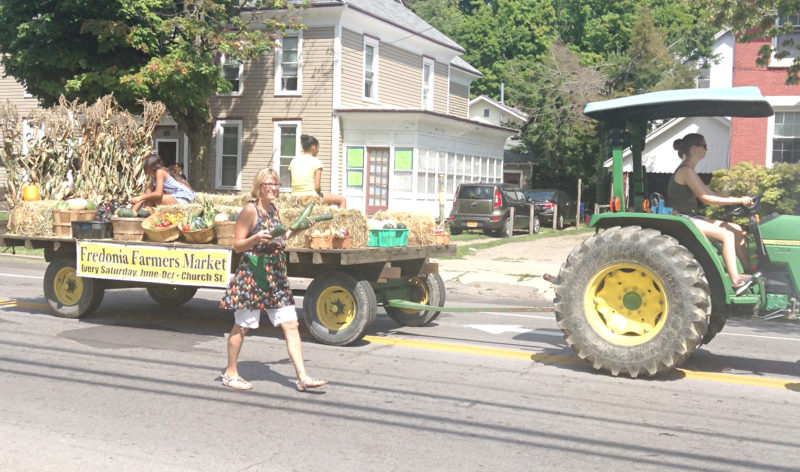 OBSERVER File Photo A desperate plea for help has righted the ship — or tractor — and the Fredonia Farm Festival will again be held this summer.