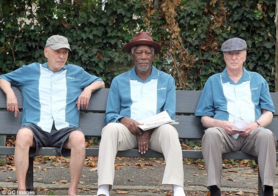 "Submitted Photo ""Going in Style"" stars Alan Arkin, Morgan Freeman and Michael Caine."