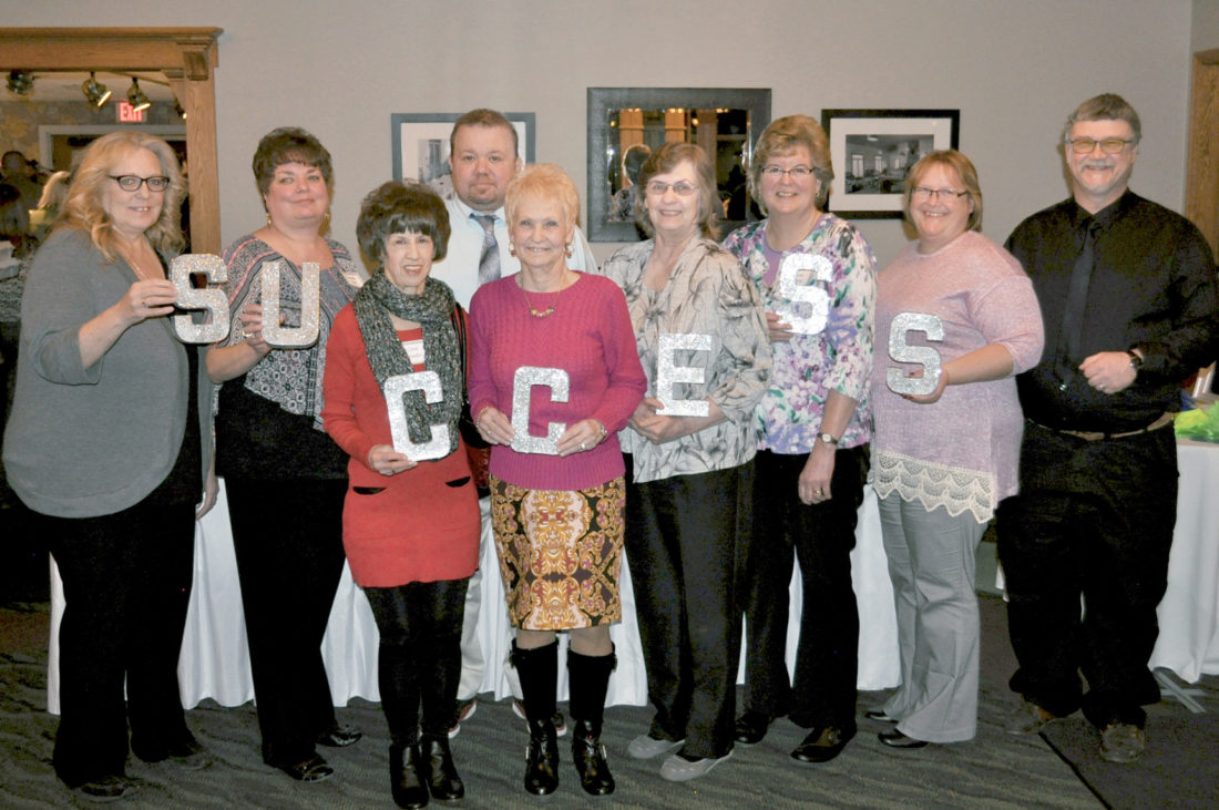 Submitted Photo Pictured (from left) are Lutheran's employees with 20 or more years of service to the organization: Jody Henry, Liz Lobb, Carol Proestler, Paul Siragusa, Janet Basile, Louise Russo, Karen Marg, Christine Anderson, and Paul Hlosta.