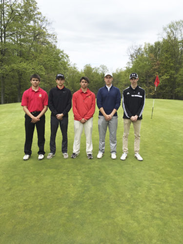 Submitted Photo: Pictured from left are JT Magro, Derek Douthit, TJ Magro, Zac Levenstein and Christian Michalski. Missing from the photo are Anthony Gullo and Seth MacTavish.
