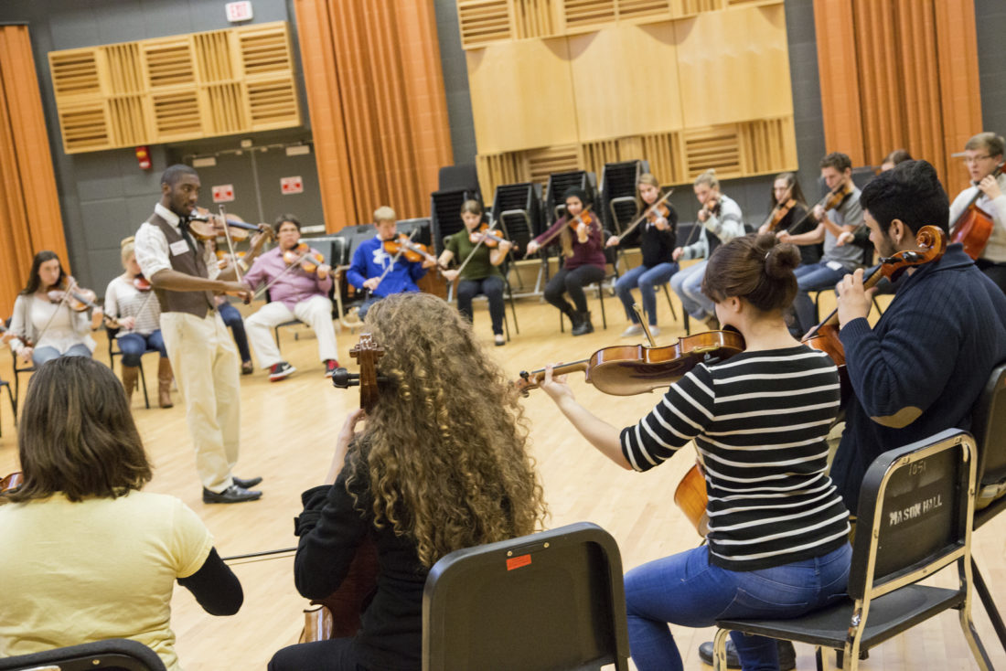 Submitted Photo: Fredonia's new string program has been expertly designed for string players in grades 8-12.