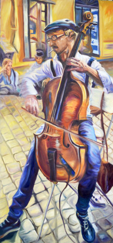 Submitted Photo Roman Cello Player Fabio Cavaggion