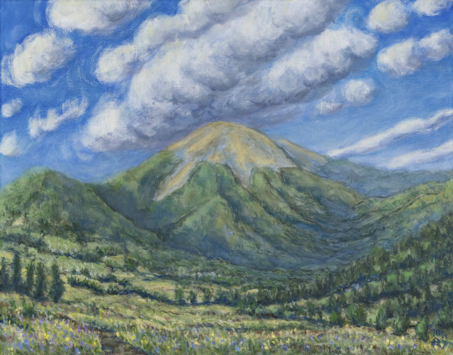 """Mount Baldy, Philmont Scout Ranch"" by Thomas Annear."