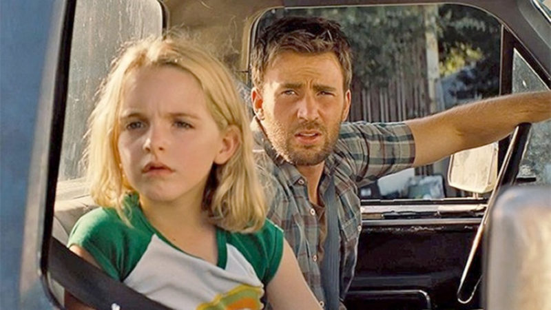 "Submitted Photo Chris Evans and Mckenna Grace star in the movie ""Gifted"" which will show tonight at 7 p.m. at the Reg Lenna Center for The Arts."