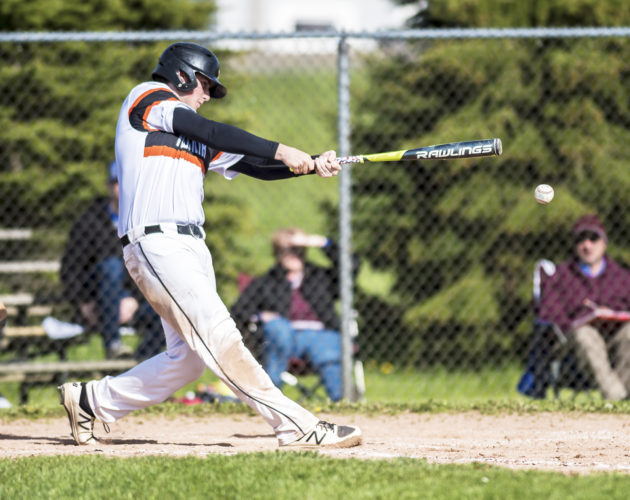 OBSERVER File Photo Ryan Mroczka (pictured) and the Fredonia Hillbillies will have their hands full Saturday when they face the No. 1 Class B team in the state, Livonia, at Niagara Falls High School.