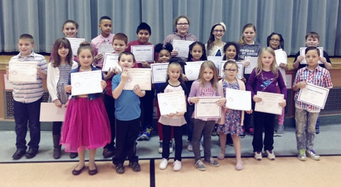 School 7 Students of the Month