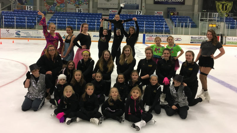 Submitted Photos The Jamestown Skating Club's 2017 Ice Extravaganza will take place this Saturday at the Northwest Arena.