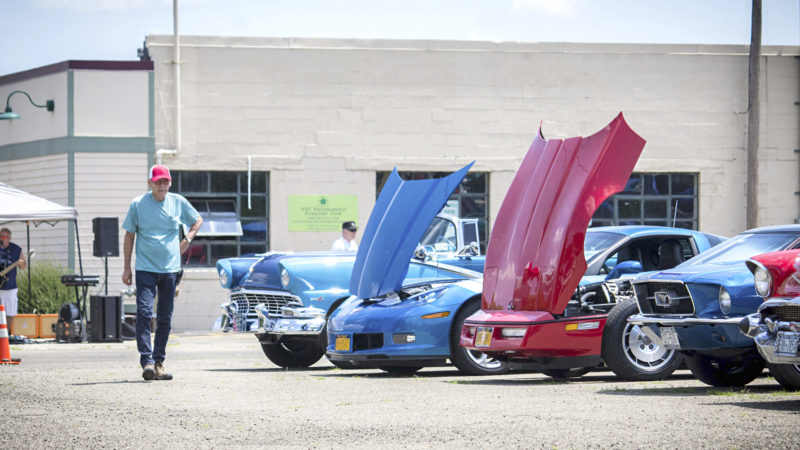 Photos by Brandon Soto: Two different events took place Saturday in the Westfield area: the Westfield Farmers' & Artisans' Market in Moore Park and a cruise-in, BBQ and fundraiser for the Grape Discovery Center.