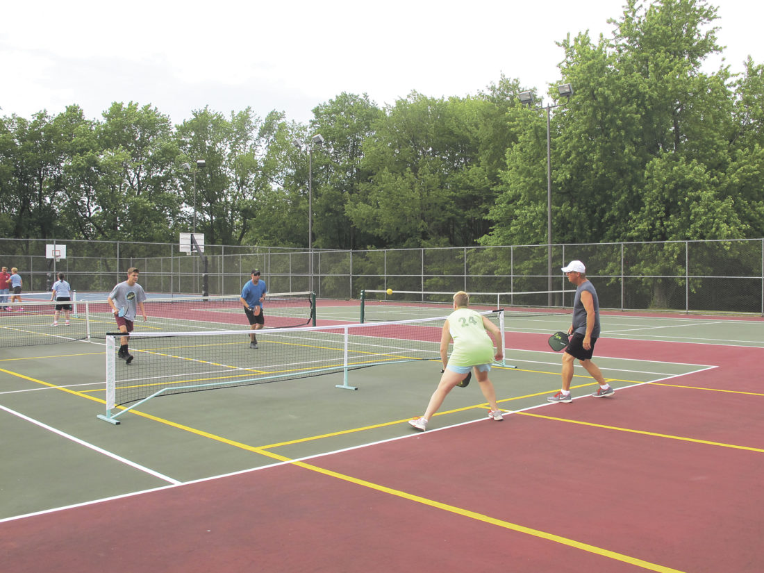 Pickleball Tennis Players Clash On Courts News Sports Jobs