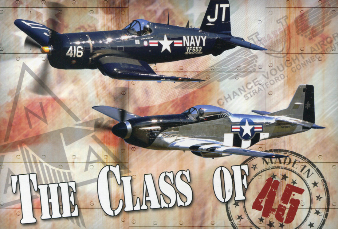 Pilots Jim Tobul and Scott Yoak are part of the Class of 45 portion of the Dunkirk air show this weekend.