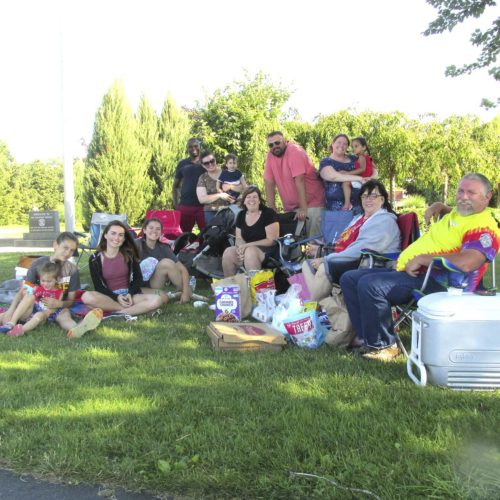 OBSERVERPhoto by Damian Sebouhian. The Becker family of Buffalo has been coming to the Dunkirk Fourth of July celebration every year.