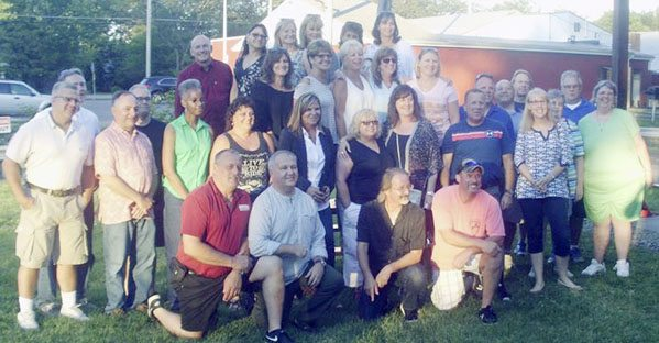 Submitted Photo: The Dunkirk High Class of 1982 held its 35th reunion on June 30 and July 1 with a social at Rookies on the Lake the first night and a picnic held at the East Town of Dunkirk fire hall the following day. Approximately 42 classmates attended between both days.