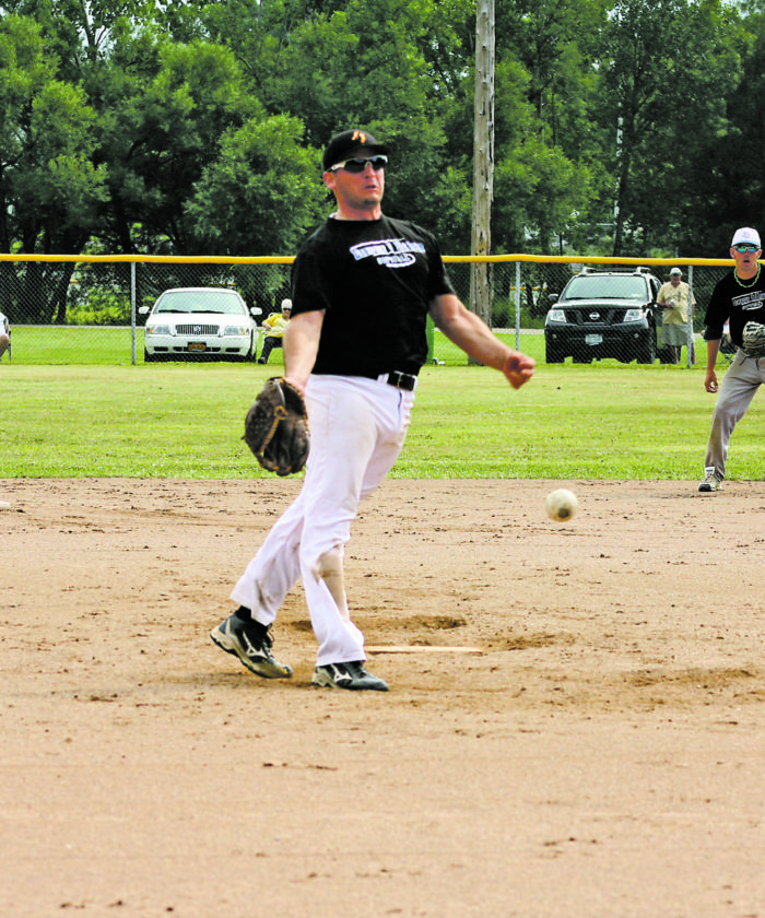OBSERVER File Photo: The 42nd annual First Ward Falcon Club Men's Fastpitch Tournament will begin tonight with three games at Promenschenkel Stadium. An eight-team, single elimination playoff will start on Sunday at 9 a.m. on the two diamonds. The championship game is tentatively scheduled to begin at 2:30 p.m. at Promenschenkel Stadium.