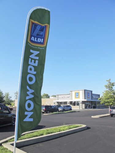 OBSERVER Photo by Nicole Gugino. The ALDI grocery store in Dunkirk will hold a ribbon-cutting ceremony Wednesday for its newly remodeled building.