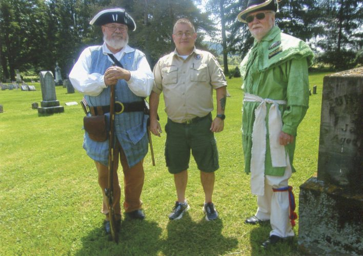 Submitted Photo: Pictured from left: Jeff Crossley, Steve Pockey, and Doug Arters