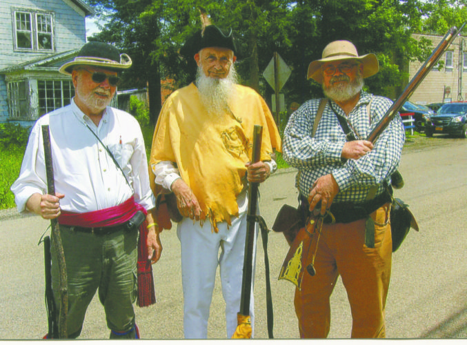 Submitted Photo Members of the Sons of the American Revolution were in Cherry Creek for the annual parade.