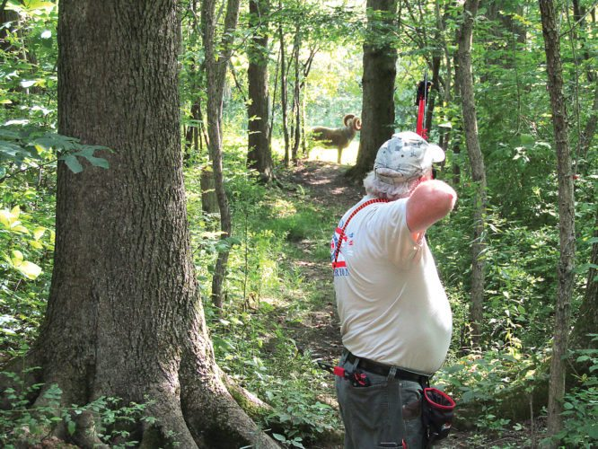 Cramtton is competing in the NYASA Super Senior (over 60) bracket, with known target yardage.