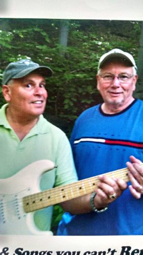 Submitted Photo From left, Jim Scriven and Tim Kelly of the classic rock duo T.J. North.