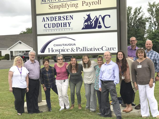 Submitted Photo CHPC's north county treatment team stand outside the new north-county office location.