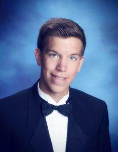 Valedictorian Brandon Birner