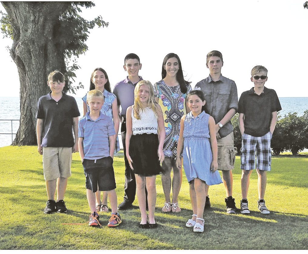 OBSERVER Photos by Jared Hill Pictured above are the 2017 Junior Golf Club Champions at Shorewood Country Club. Pictured in front, from left, are Wilson Szydlo, Ella Koopman and Isabella Buckley. In back, from left, are Sam Kawski, Meghan Murphy, Kevin Murphy, Erin Murphy, Colton Kuzdzal and Tyler Maloney.