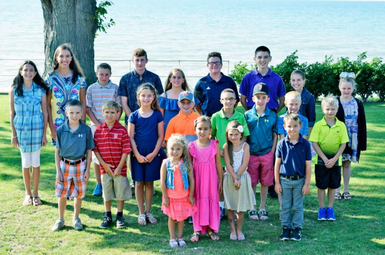Submitted Photo Pictured are the competitors for the OBSERVER Open on July 31. In front row from left, Cassie Mancuso, Josie Swanson, Lilly Mancuso and Henry Drab. In the middle row from left, Brayden Korzeniewski, Robert Harrington, Lila Drab, Brayden Keppel, Braiden Truby, Ryan Kelly, Wilson Szydlo and Jonavan Kristan. In the back row from left, Meghan Murphy, Erin Murphy, Zach Hall, Tyler Hall, Juli Spacc, Nick Zatorski, Kevin Murphy, Aileen Murphy and Lauren Marsh. Not pictured include: Angelo Zappie, Evan Maloney, Aiden Mazany, Sebastian Puglisl, Charlie Parker, Julia Askar, Joe Askar, Mackenzie Harrington, Ethan Fry and Tommy Askar.